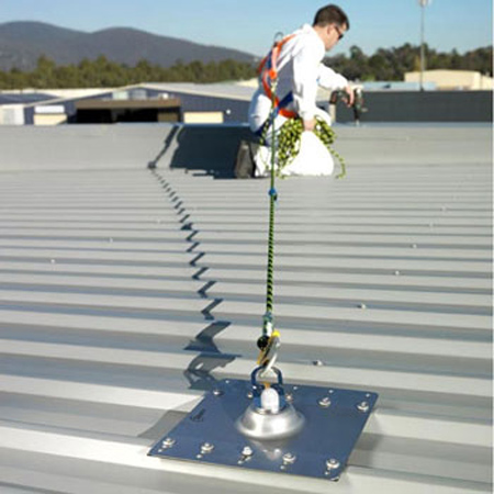 Safety Rail Systems For Roofs Height Safety & Anchor Points - Integrity Projects ...